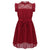 Girls burgundy party dress for 4-14 year olds-Fabulous Bargains Galore