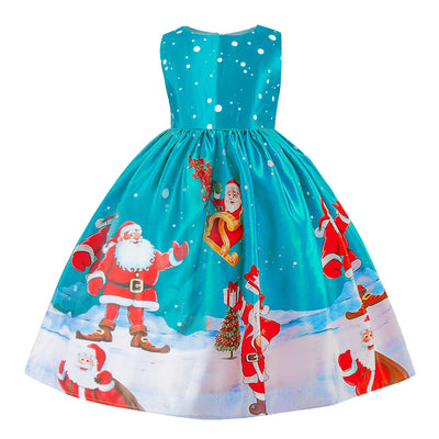 Cute christmas party dress for kids 3-10 years-Fabulous Bargains Galore