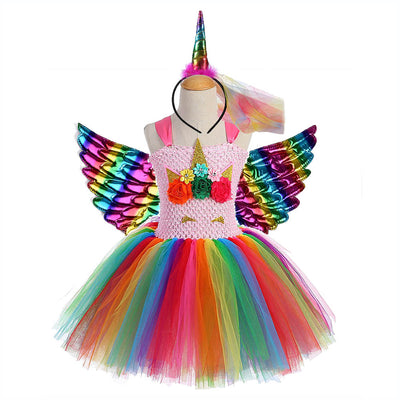 Tutu unicorn dress for girls 6 year olds-Fabulous Bargains Galore