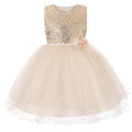 Girls gold sequin dress up to age 13 years-Fabulous Bargains Galore