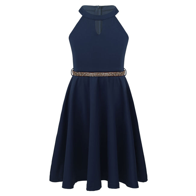 Girls navy party dress up to age 14 years-Fabulous Bargains Galore