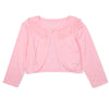 Girls pink bolero for 1-10 year olds