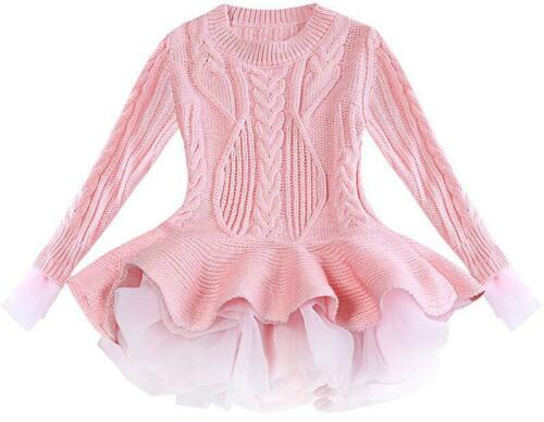 Kids knitted dress up to age 7 years-Fabulous Bargains Galore
