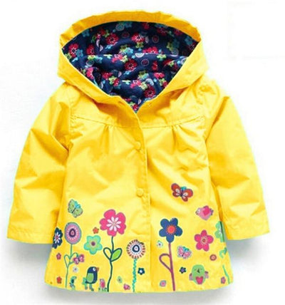 Girls light blue coat 1-6 years-Fabulous Bargains Galore