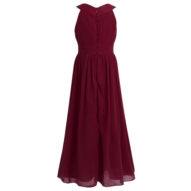 Girls chiffon maxi dress up to age 14 years-Fabulous Bargains Galore