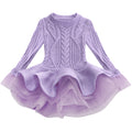 Girls cable knit sweater dress up to age 7 years-Fabulous Bargains Galore