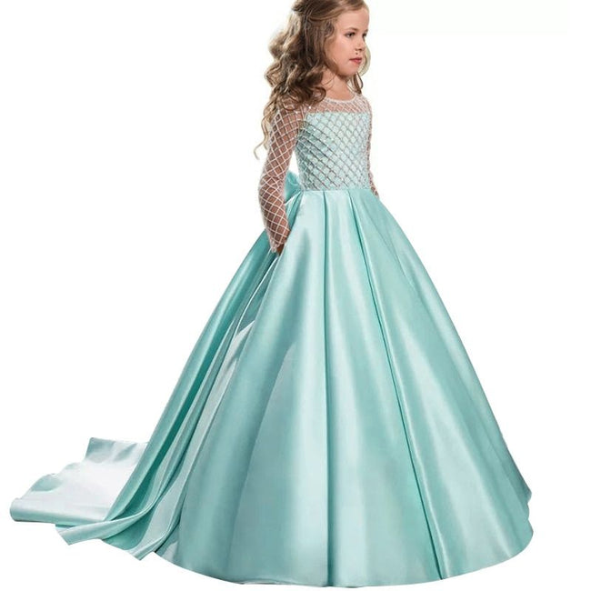 Champagne colored little girl dresses up to age 12 years-Fabulous Bargains Galore