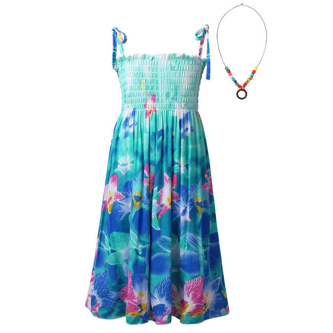 Girls spaghetti strap dress up to age 12 years-Fabulous Bargains Galore