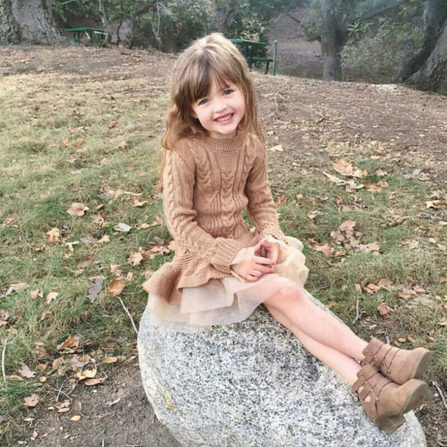 Little girl sweater dresses up to age 7 years-Fabulous Bargains Galore