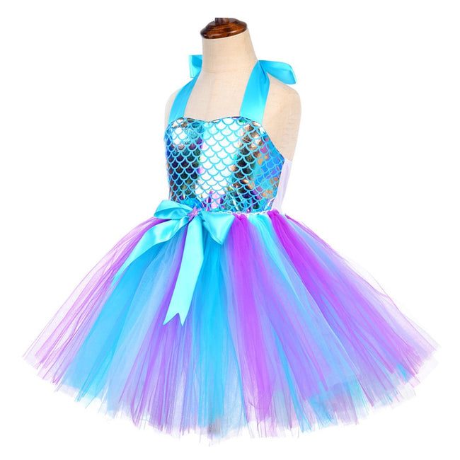 Mermaid tutu birthday outfit up to age 12 years-Fabulous Bargains Galore