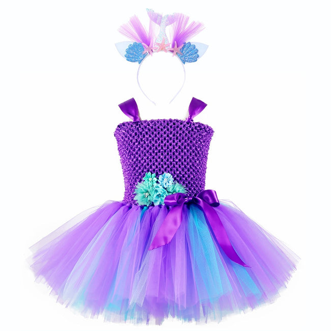 Girls mermaid party dress up to age 12 years-Fabulous Bargains Galore