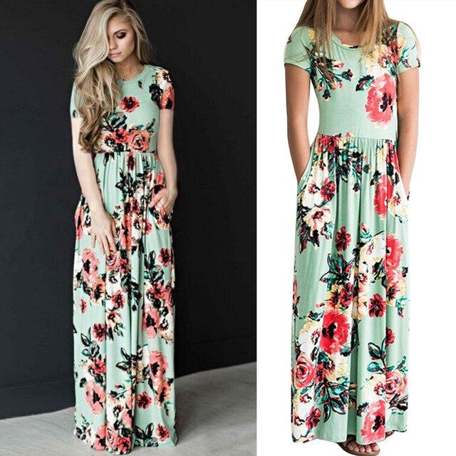 Mother and daughter summer dresses-Fabulous Bargains Galore