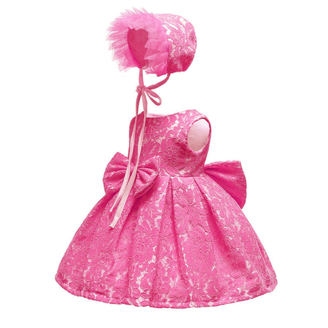 Newborn baby girl lace dress up to 24 months-Fabulous Bargains Galore