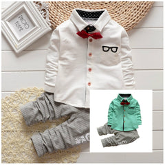 Baby Boy Toddler Lovely Occasion 2Pcs Outfit Set