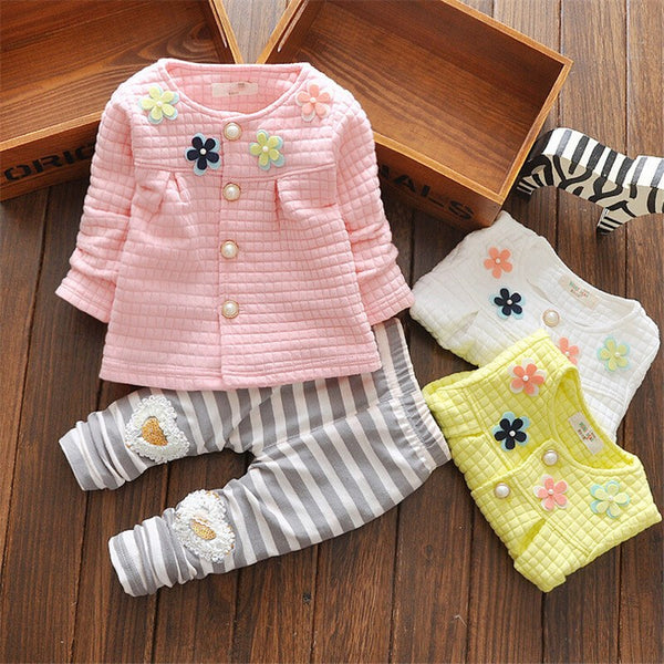 Baby Girl Toddler Casual Outfit Set