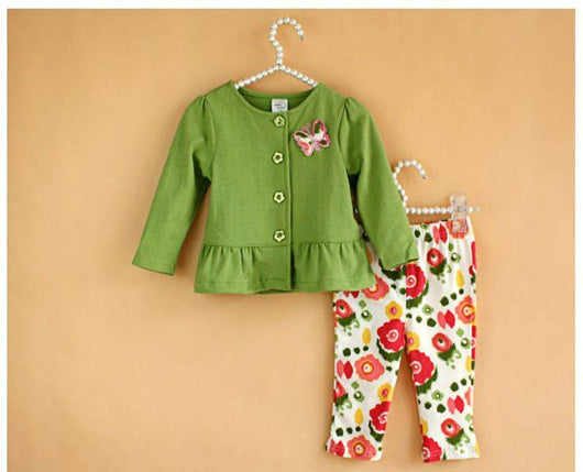 Cute Long Sleeve Outfit for Girls-Fabulous Bargains Galore