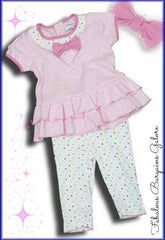 Baby girls 2 piece outfit