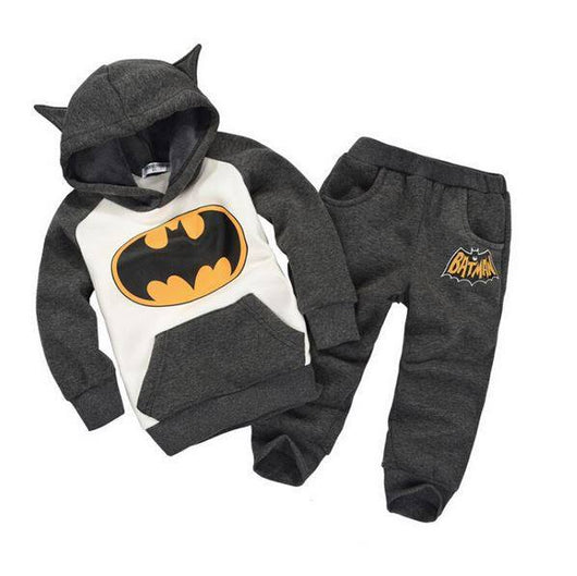 Fleece Warm Batman Print Autumn Outfits-Fabulous Bargains Galore