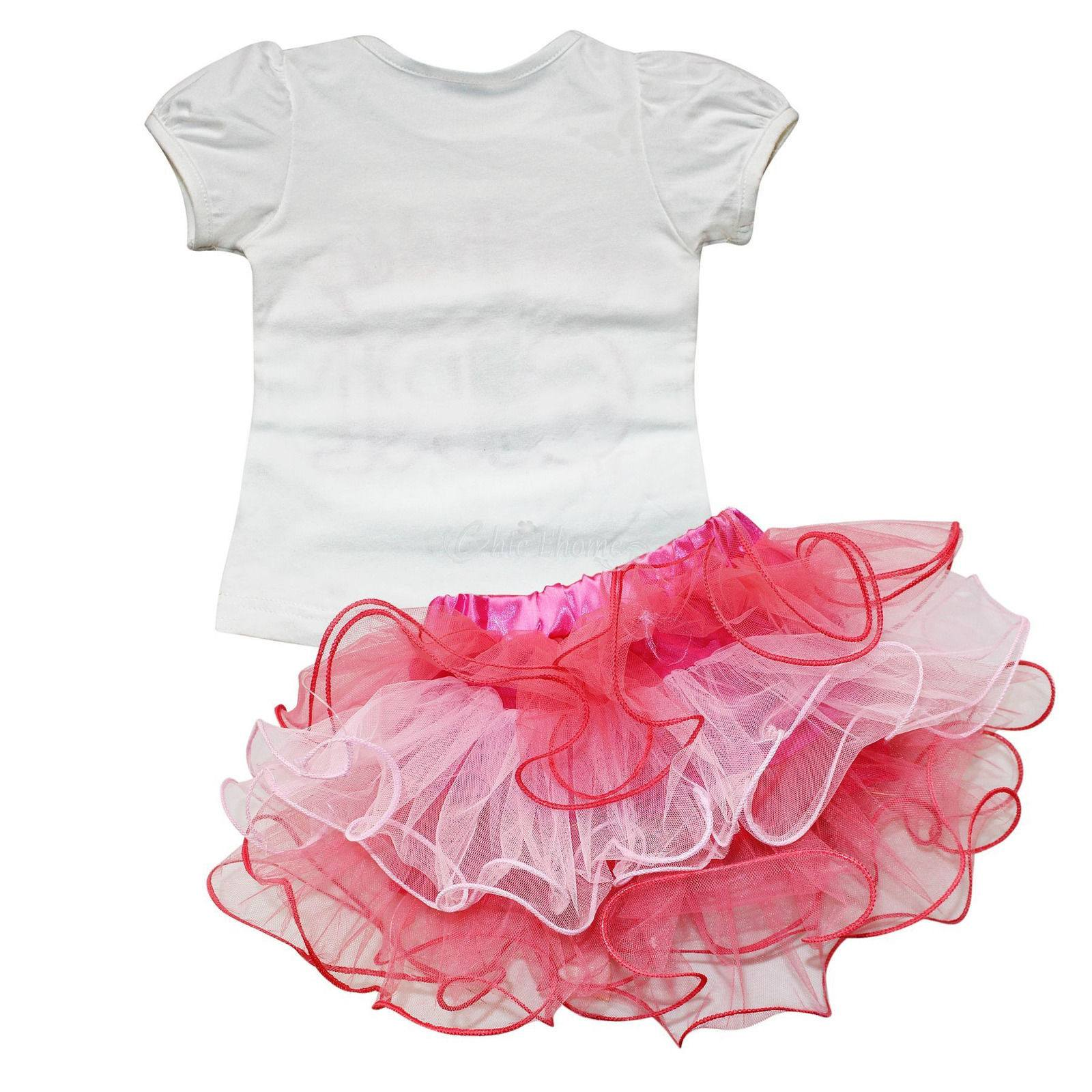 Cute Birthday Pink Baby Girl Outfit