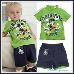 Mickey Mouse Shorts and T-shirt Boys Outfit