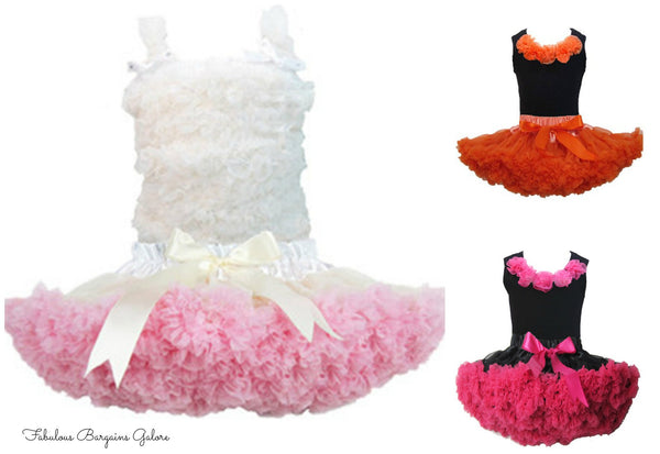 Stunning Pettiskirts Outfits for Girls