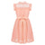 Party wear dresses for girl in apricot 4-14 year olds-Fabulous Bargains Galore