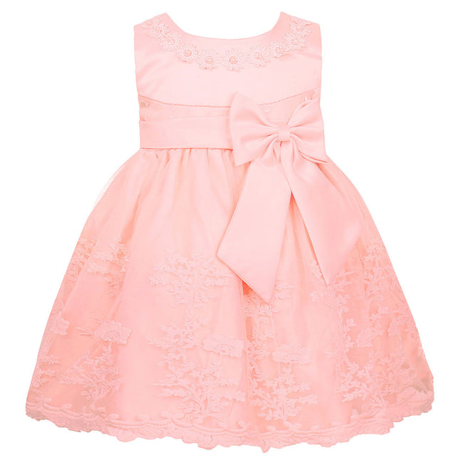 Baby girl satin dress up to 18 months-Fabulous Bargains Galore