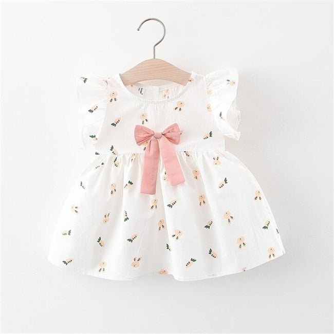 White frock for baby girl-Fabulous Bargains Galore