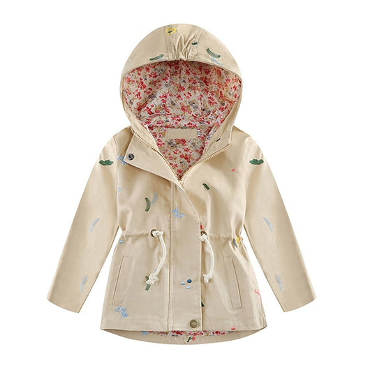 Khaki little girls spring jackets-Fabulous Bargains Galore