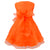 Orange baby princess dress-Fabulous Bargains Galore