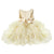Beige toddler girl party dresses-Fabulous Bargains Galore