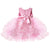 Pink toddler girl party dresses-Fabulous Bargains Galore
