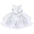 White toddler girl party dresses-Fabulous Bargains Galore