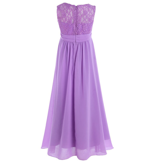 Flower girl dresses lavender color up to age 14 years-Fabulous Bargains Galore