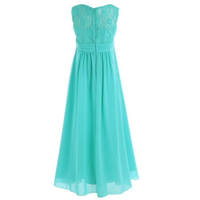 Green flower girl dresses wedding up to age 14 years-Fabulous Bargains Galore