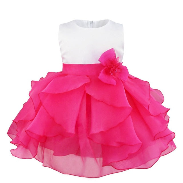 Rose pink baby girl dress up to age 3 years-Fabulous Bargains Galore