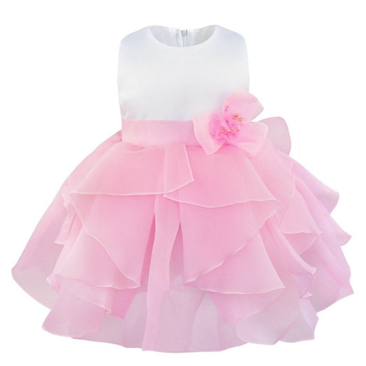 Light Pink pretty baby girl dresses-Fabulous Bargains Galore