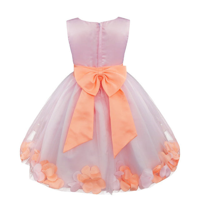Girls petal flower girl dress up to age 14 years-Fabulous Bargains Galore