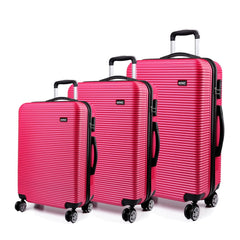 ABS Hard Shell Suitcase With 4 Wheel Spinners