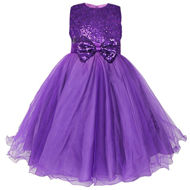 Girls purple sequin dress up to age 14 years-Fabulous Bargains Galore
