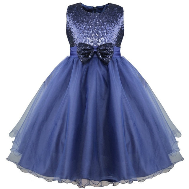 Girls navy sequin dress up to age 4 years-Fabulous Bargains Galore