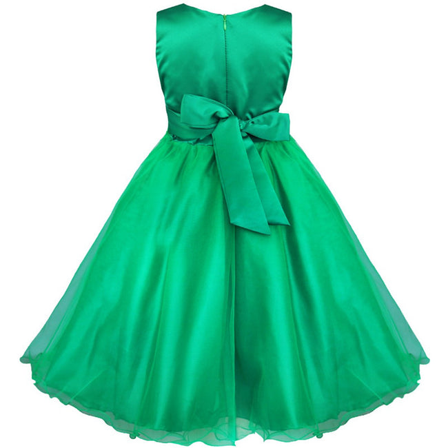 Girls green sequin dress up to age 14 years-Fabulous Bargains Galore