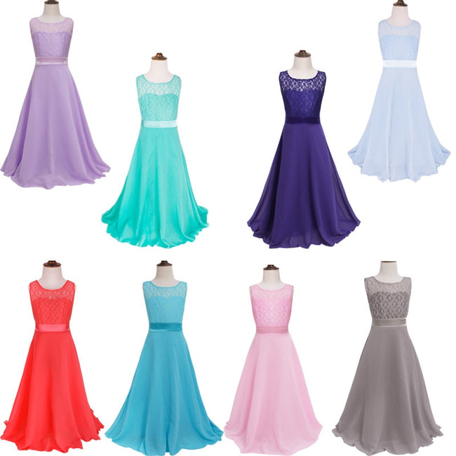 Girls long party dress up to age 14 years-Fabulous Bargains Galore