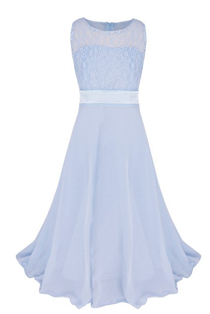 Full length flower girl dress up to age 14 years-Fabulous Bargains Galore