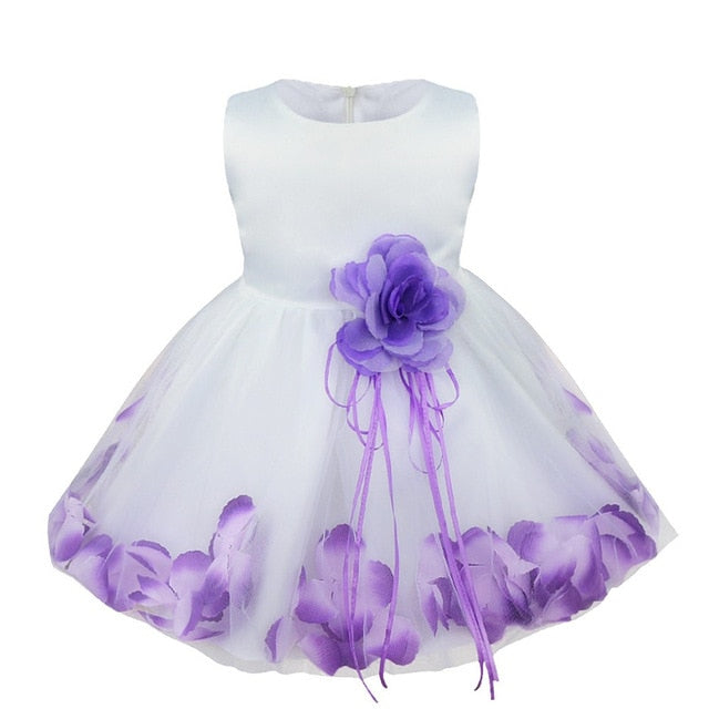 Purple sleeveless baby girl occasion dress-Fabulous Bargains Galore