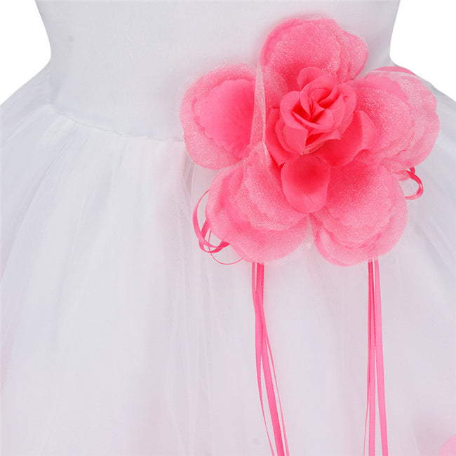 Light pink sleeveless baby girl occasion dress-Fabulous Bargains Galore