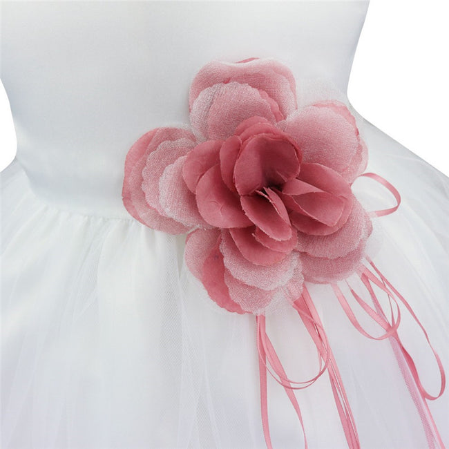 Rose pink sleeveless baby girl occasion dress-Fabulous Bargains Galore