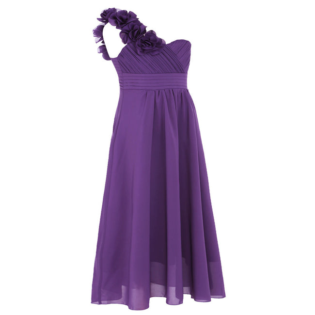 Purple girls bridesmaid dress up to age 14 years-Fabulous Bargains Galore