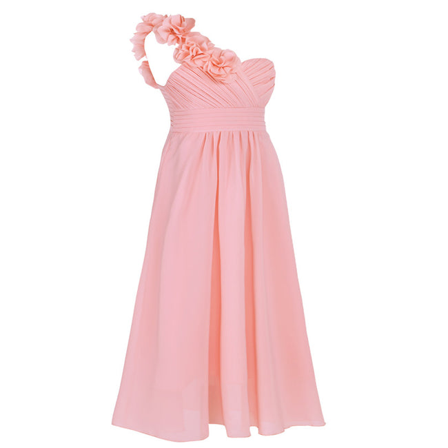 Pink girls bridesmaid dress up to age 14 years-Fabulous Bargains Galore