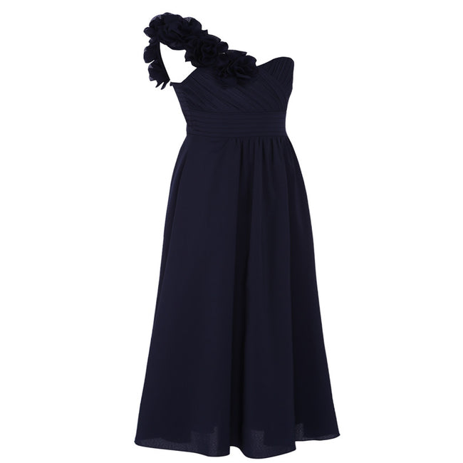 Navy girls bridesmaid dress up to age 14 years-Fabulous Bargains Galore